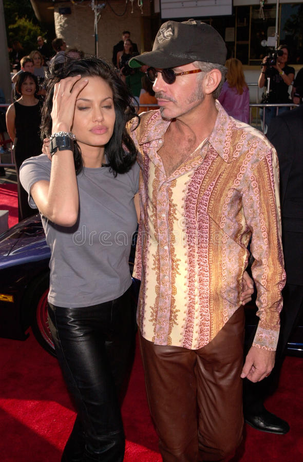 Angelina Jolie, Billy Bob Thornton image libre de droits