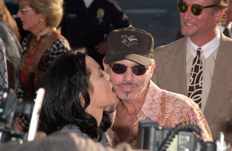 Angelina Jolie,Billy Bob Thornton. Actress ANGELINA JOLIE & actor husband BILLY BOB THORNTON at the world premiere, in Westwood, of her new movie Gone In 60 stock photos