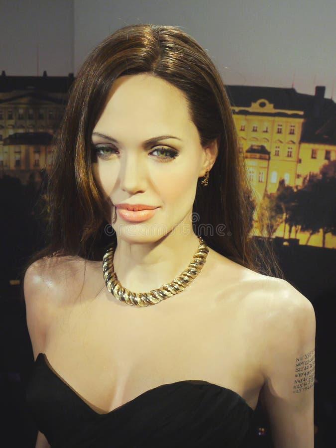 Angelina Jolie Pitt στοκ φωτογραφία με δικαίωμα ελεύθερης χρήσης