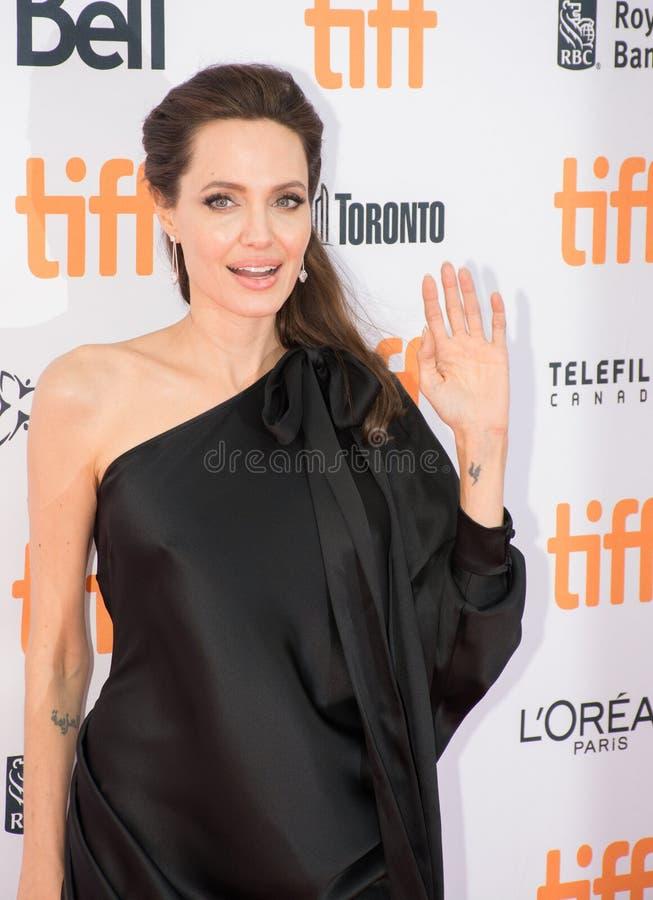 Angelina Jolie World Premiere di ` in primo luogo hanno ucciso il mio ` del padre al festival cinematografico dell'internazionale fotografia stock