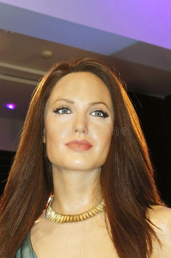 Angelina Voight Jolie στοκ εικόνα