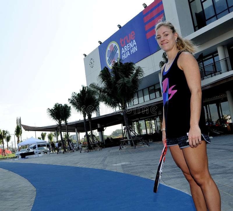 Angelique Kerber stock photo
