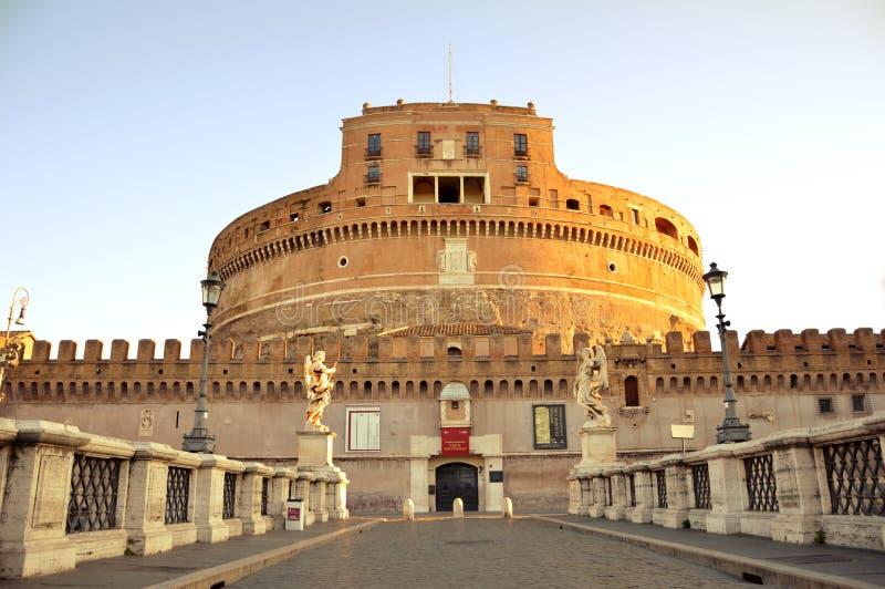 angelo castel italy sant rome royaltyfri bild