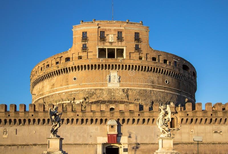 ` Angelo Castel, Roma de Sant imagenes de archivo