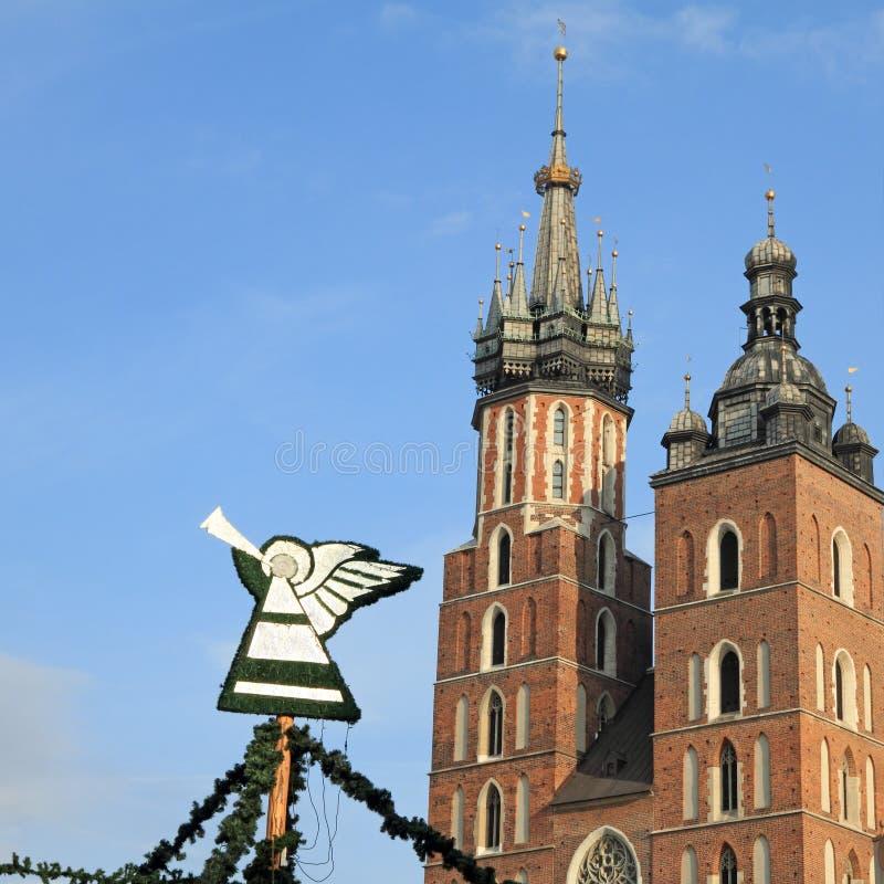 Angelo a Cracovia immagine stock libera da diritti