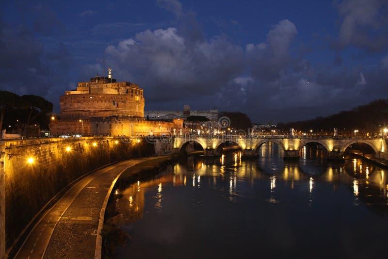 ` Angelo de Sant do castelo foto de stock royalty free