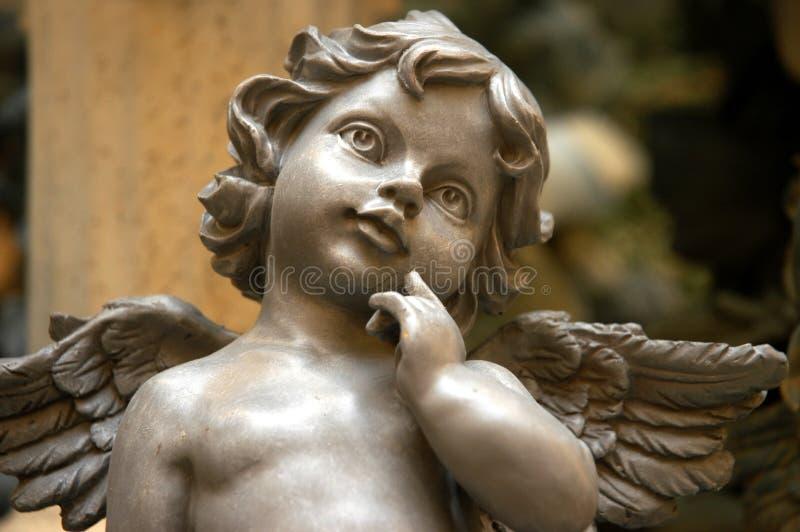 Angelo del Cherub fotografie stock libere da diritti
