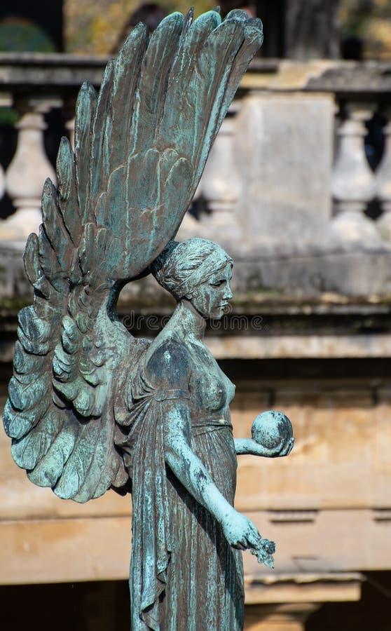 Angelo della statua di pace fotografia stock libera da diritti