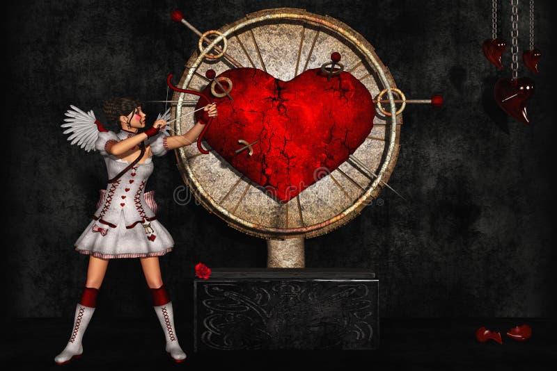 Angelo di amore royalty illustrazione gratis