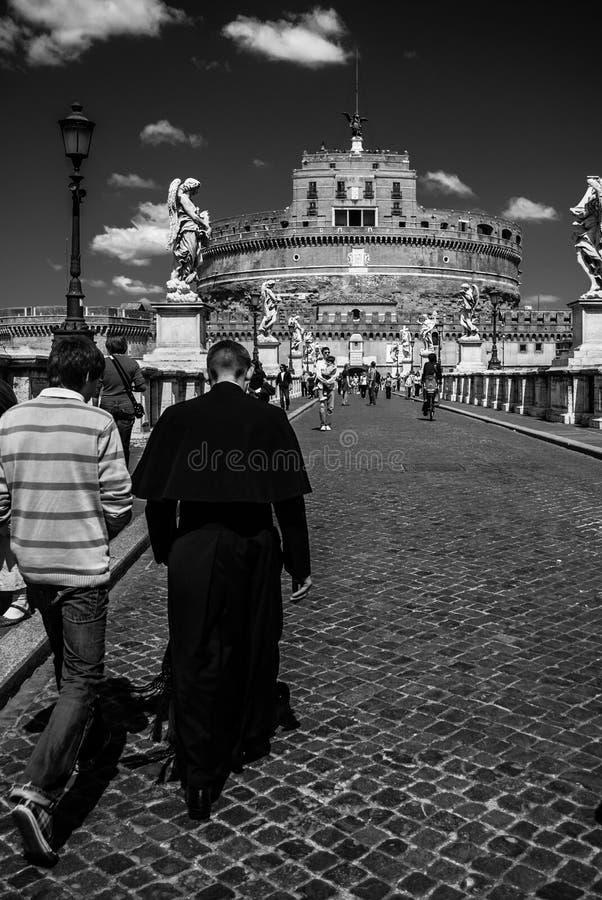 ` Angelo di Castel Sant immagini stock libere da diritti