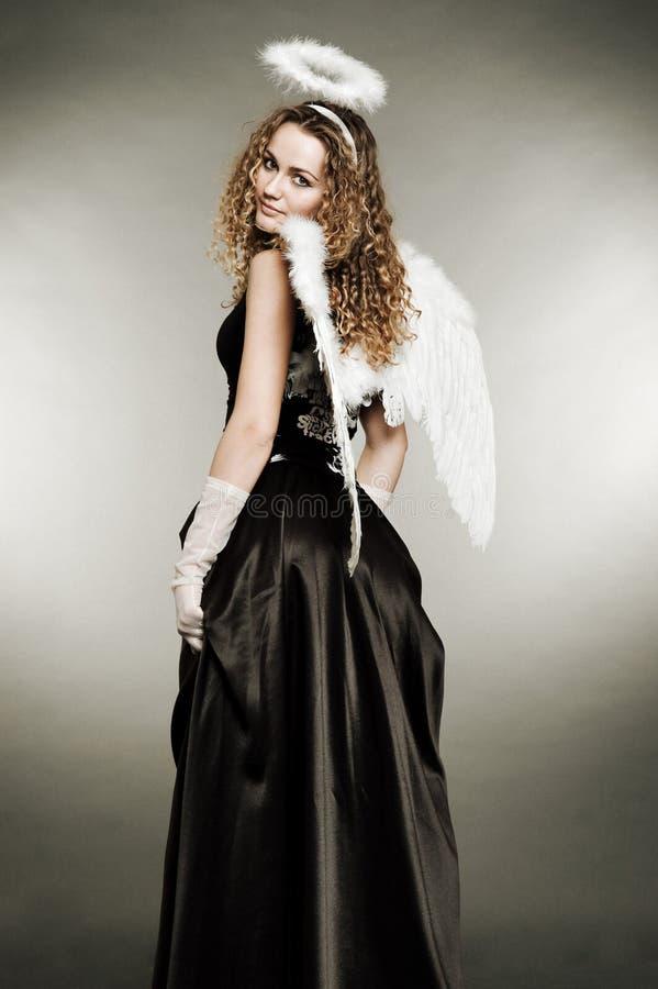 Angelo di Fairy-tale fotografie stock libere da diritti
