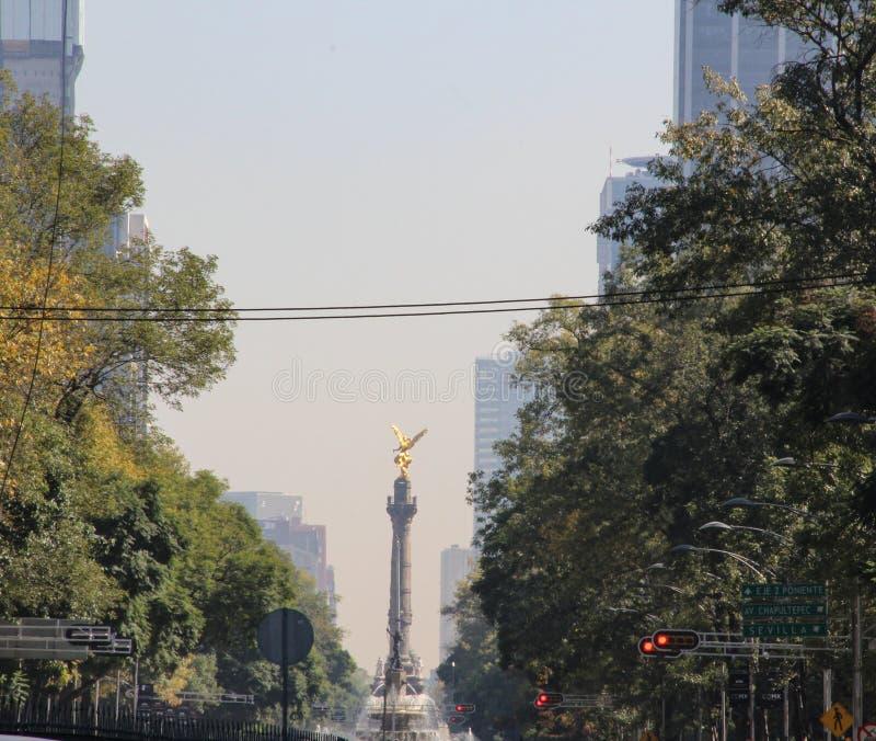 Angelo di indipendenza, Messico City, Messico immagini stock libere da diritti