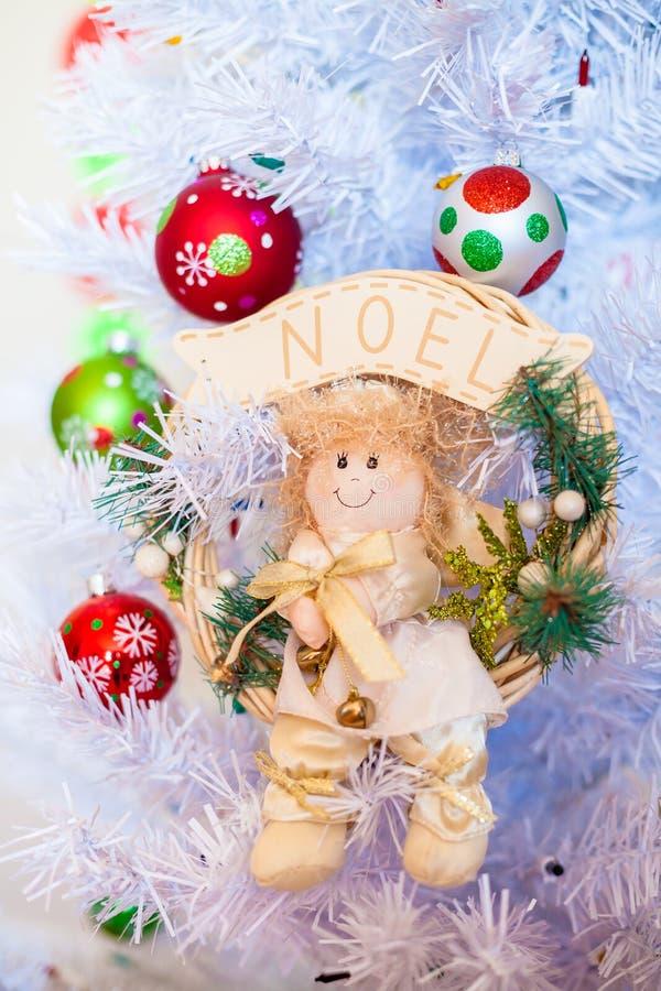 Angelo di Natale immagine stock libera da diritti
