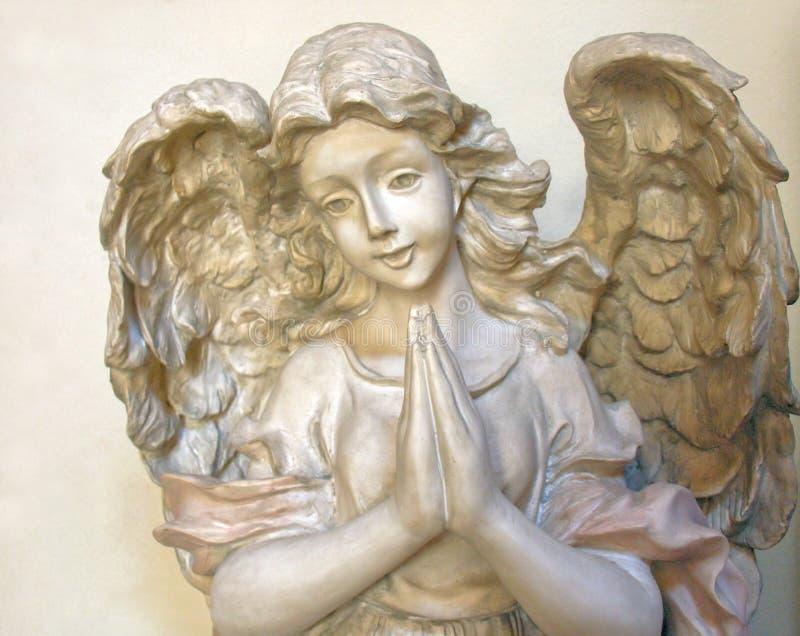Angelo di preghiera 2 immagini stock