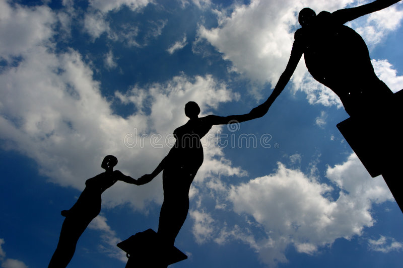 Download Angels stock photo. Image of looming, rusty, silhouette - 10108