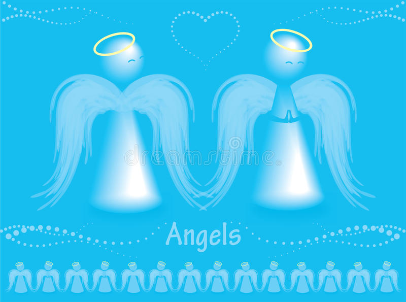 Download Angels stock vector. Image of celebration, tradition - 12342774