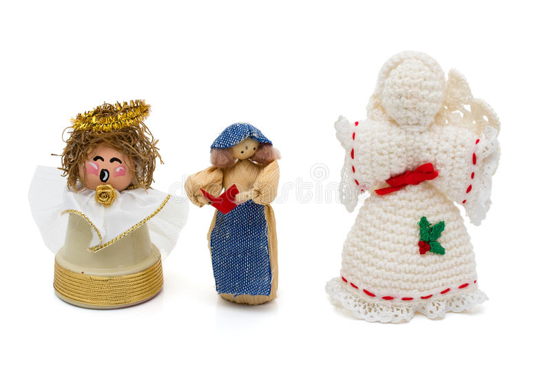 Download Angels stock image. Image of merry, handmade, space, tradition - 16928749