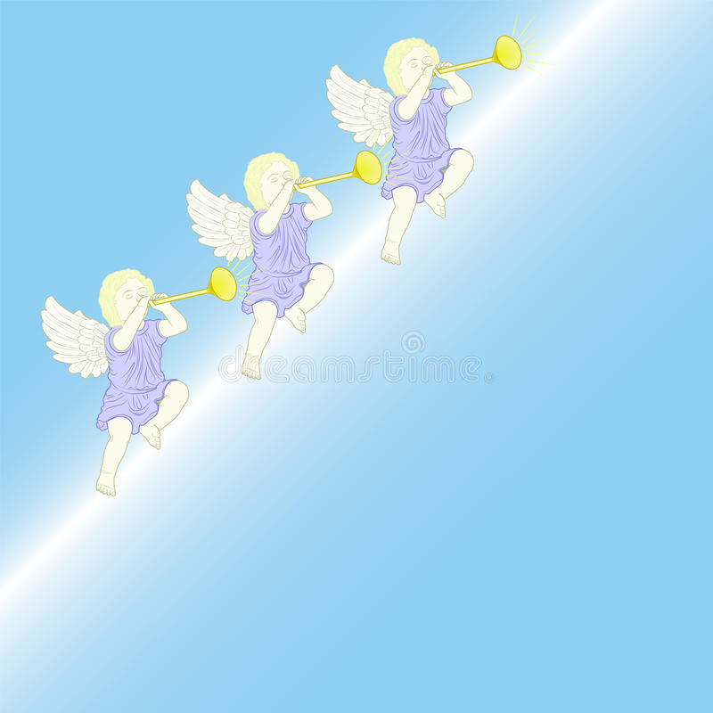 Download Angels stock vector. Illustration of ceremonial, wings - 22672584