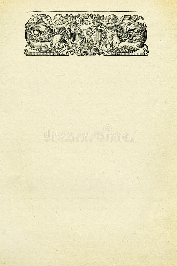 Download Angels and deers stock illustration. Image of beige, ragged - 12557441
