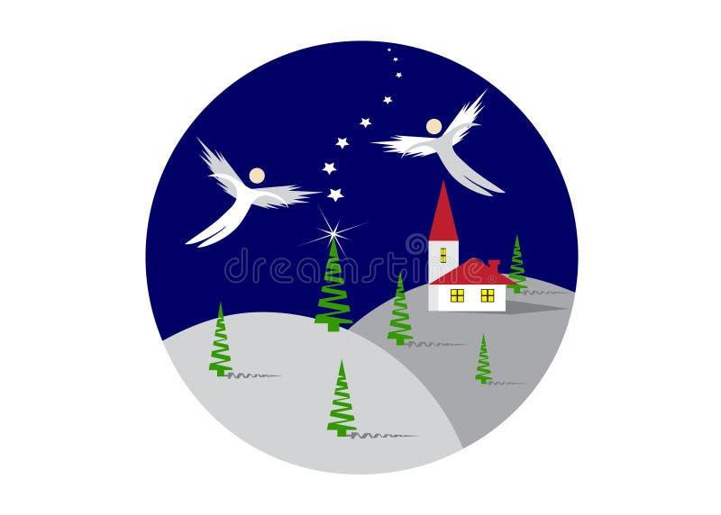 Angels. stock illustration