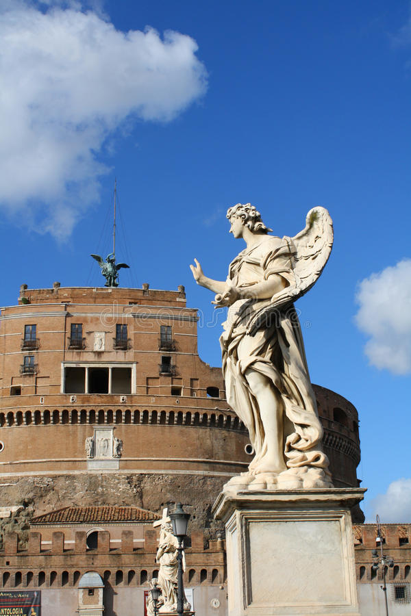 Download Angels On The Ponte SantAngelo Royalty Free Stock Image - Image: 26851746