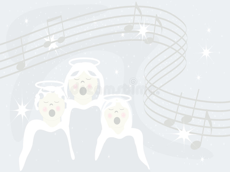 Download Angels Sing Royalty Free Stock Images - Image: 3700649