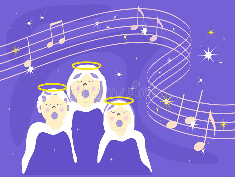 Download When Angels Sing Royalty Free Stock Photos - Image: 5952728