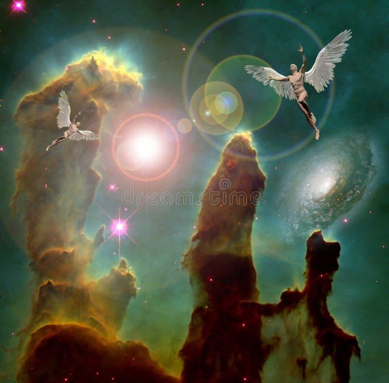 angels ilustração stock