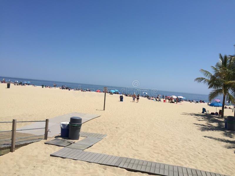 Angenäm strand nya Jesey för punkt arkivbild