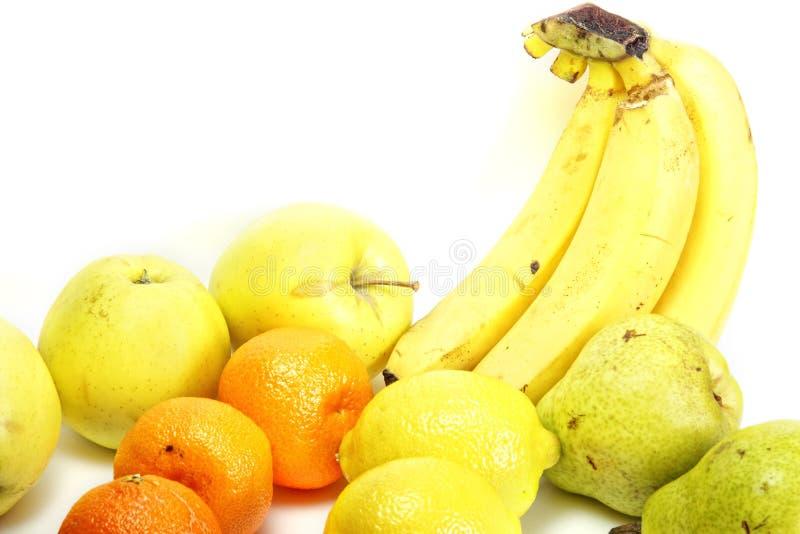 Angeordnete Früchte stockfotografie