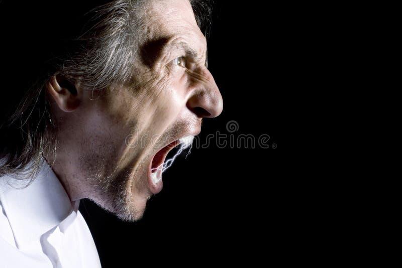 Anger royalty free stock photo