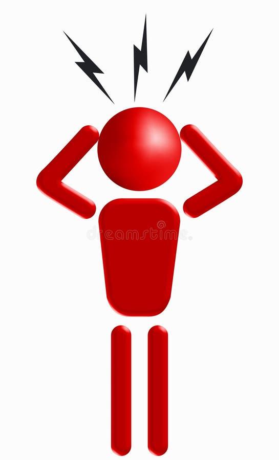 Download Anger stock illustration. Illustration of pictogram, illustration - 4467455
