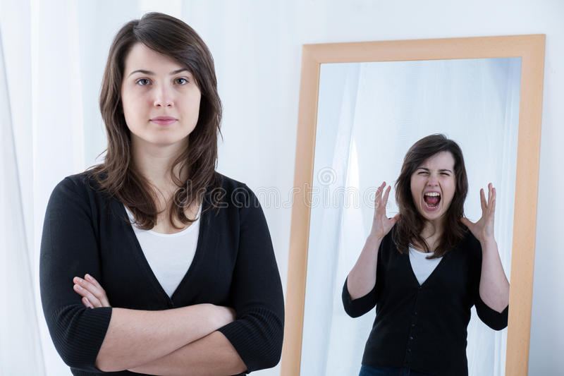 Anger inside royalty free stock photo