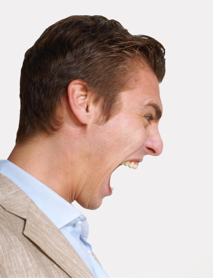 Download Anger man. stock image. Image of fury, facial, domestic - 31010523