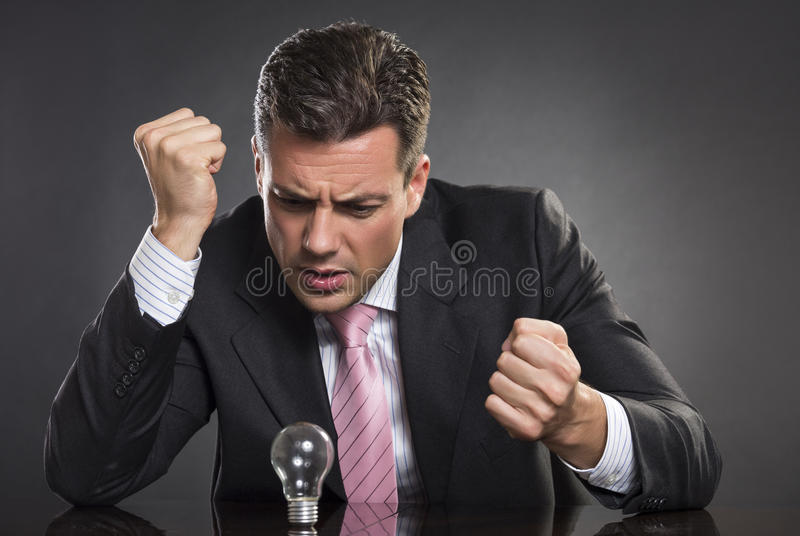Anger management stock photo
