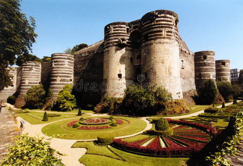 Angers royalty free stock photos