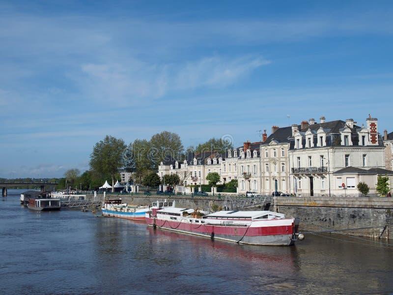 Download Angers, Quai Des Carmes, France, Europe Stock Photo - Image: 24557014
