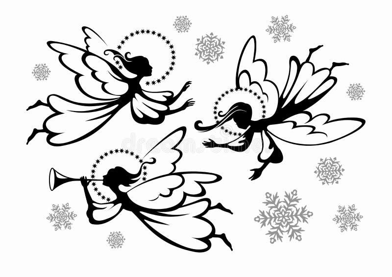 Anges illustration stock