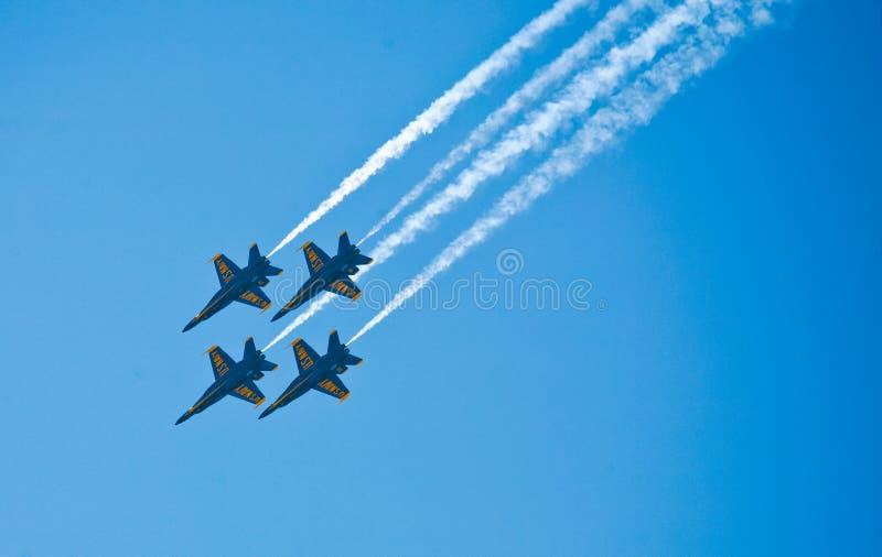 Anges de bleu marine image libre de droits