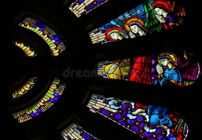 Anges de prière image stock