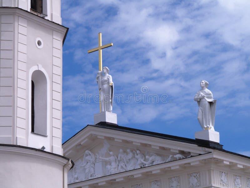 Anges sur le toit photos stock