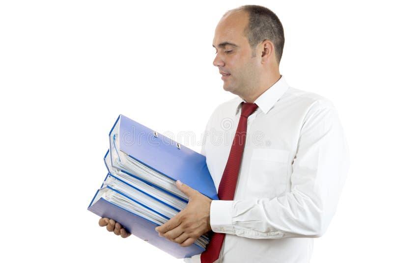 Angestellter lizenzfreie stockfotografie