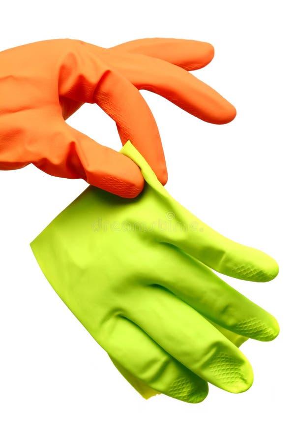 Angewiderter Handschuh lizenzfreies stockfoto