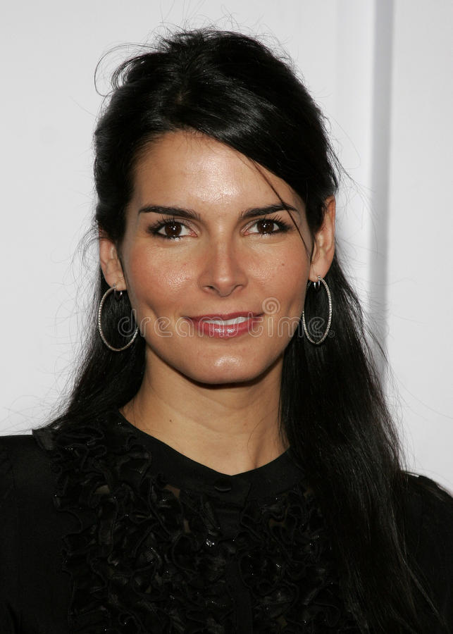 Angie Harmon. HOLLYWOOD, CALIFORNIA. Thursday December 7, 2006. Angie Harmon attends the Los Angeles Premiere of The Pursuit of Happyness held at the Mann royalty free stock photos
