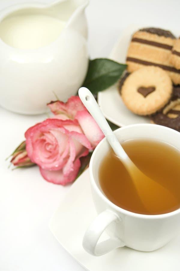 angielska herbata zdjęcia stock