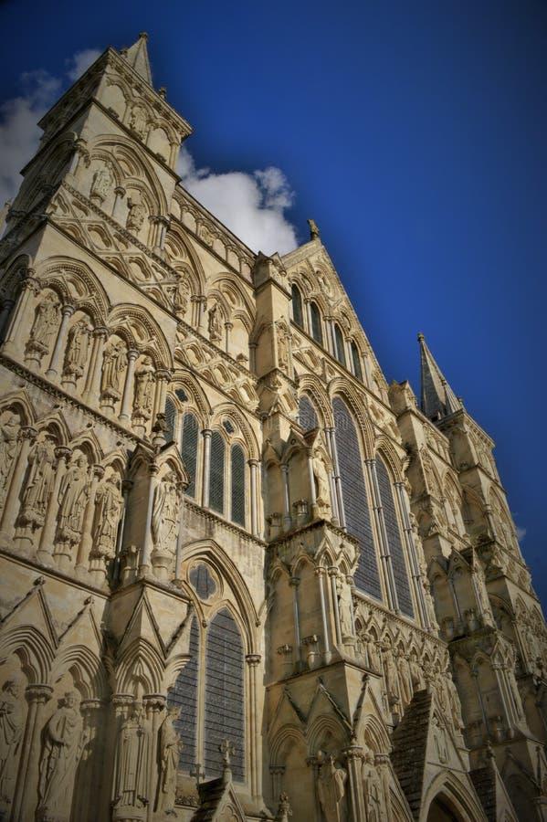 Angielska katedra zdjęcie royalty free