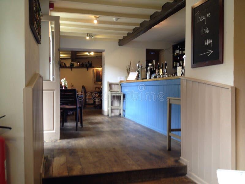 Angielska kawiarnia fotografia stock