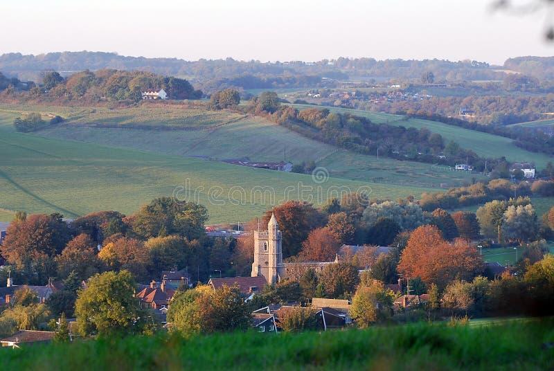 angielska wieś zdjęcie stock