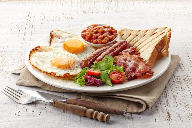 Angielski śniadanie obraz royalty free