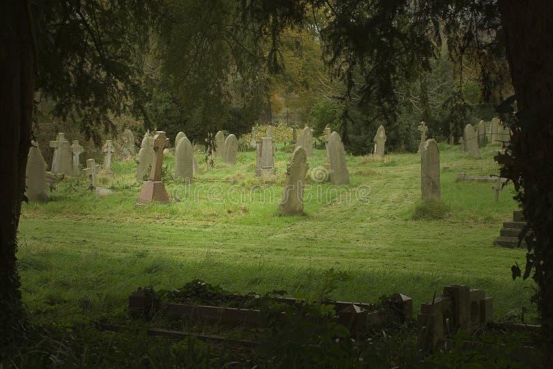 angielski cmentarz zdjęcie stock